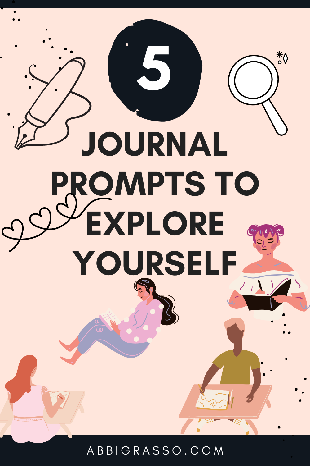 Daily Blog #283- Journal Prompts to explore yourself